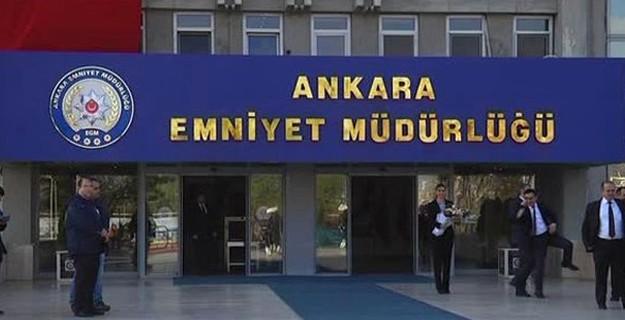 Ankara Emniyeti'nde FETÖ Depremi