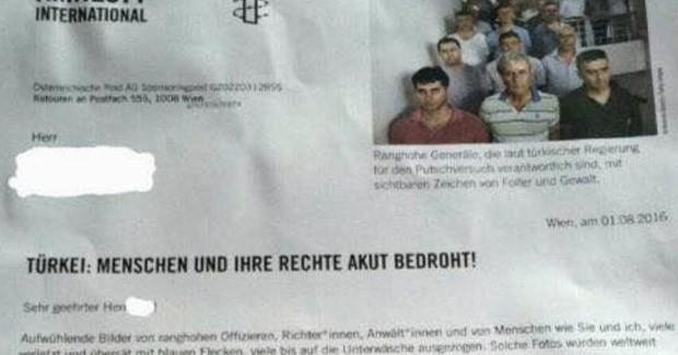 Avusturya Af Örgütü Darbeciler İçin Para İstedi