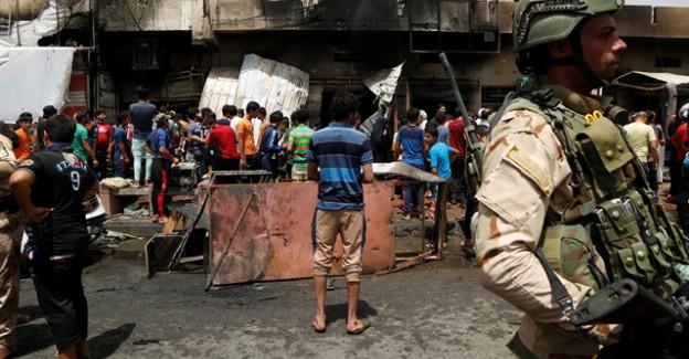 Bağdat'ta İntihar Saldırısı: 80 Ölü 120 Yaralı!