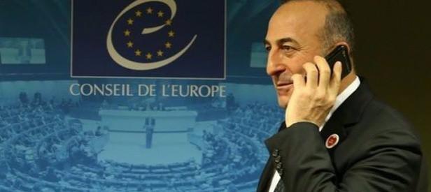 Bakan Çavuşoğlu'ndan NATO'ya telefon