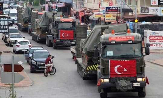 Batı İllerinden Gaziantep'e Tank Sevkiyatı