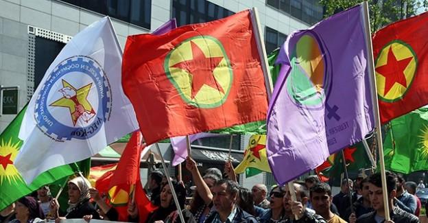 Belçika İzin Verdi PKK'lılar Gösteri Düzenledi
