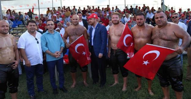 Bilal Erdoğan 'Er Meydanında'