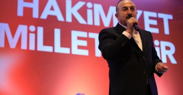 Çavuşoğlu'ndan Ders Gibi Cevap: Bu Tehdit Değil Ama Eğer Uygulanmazsa...