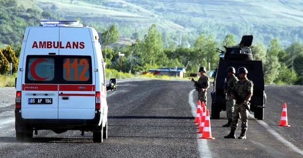 Çevik Kuvvet Aracına Bombalı Saldırı! 6 Polis Şehit