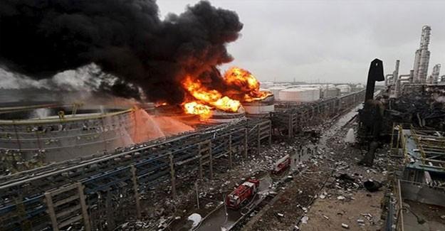 Çin'de Korkutan Patlama! 3 Ölü Var
