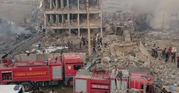 Cizre Emniyet Müdürlüğüne Bombalı Saldırı! 11 Şehit, 78 Yaralı