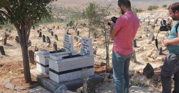 Çocuk Mezarına Gizlenmiş Bomba Bulundu