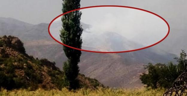 Çukurca'daki PKK Kampları Bombalanıyor