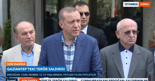 Cumhurbaşkanı Erdoğan Açıkladı: Canlı Bomba 12-14 Yaşlarında