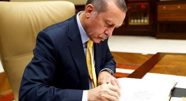 Cumhurbaşkanı Erdoğan O Anlaşmayı Onayladı
