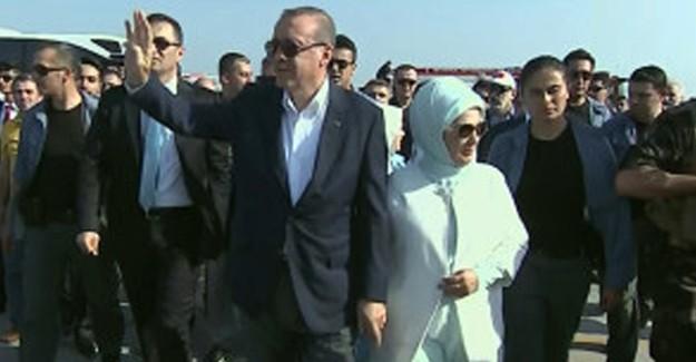 Cumhurbaşkanı Erdoğan Tarihi Miting Alanında