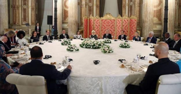 Cumhurbaşkanı Erdoğan'dan Dünya Liderlerine Akşam Yemeği