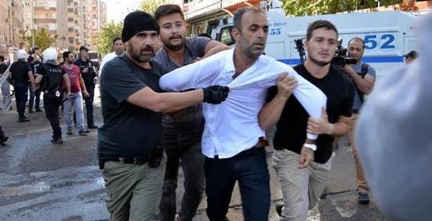 Diyarbakır Yine Karıştı: Çok Sayıda Gözaltı