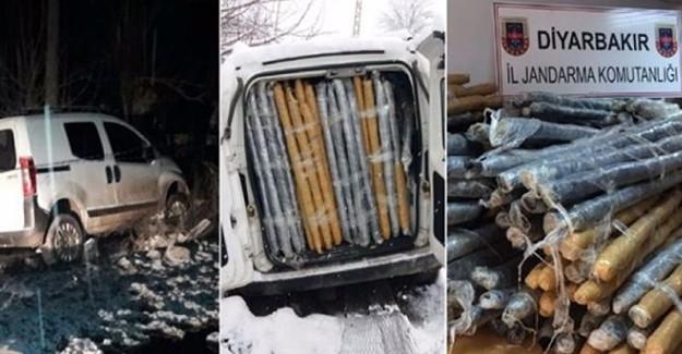 Diyarbakır'da Kaza Yapan Araçta Bakın Ne Çıktı