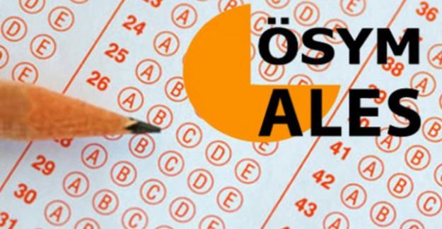 'e-ALES Deneme Sınavı' Başvuruları Başladı