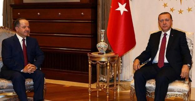 Erdoğan - Barzani Görüşmesinde 2 Kritik Konu Ele Alındı