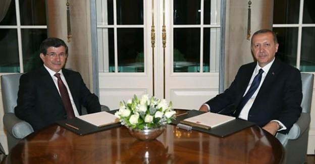 Erdoğan ve Davutoğlu'ndan Kritik Görüşme