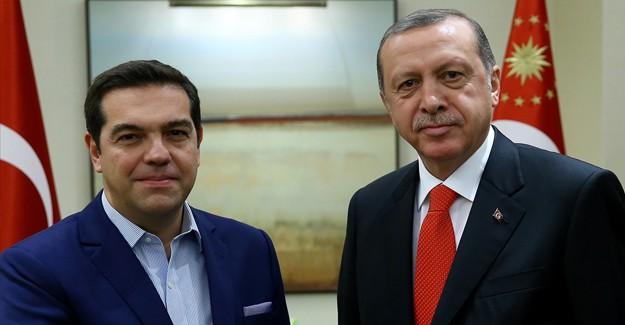 Erdoğan'dan Çipras'a Büyük Tepki