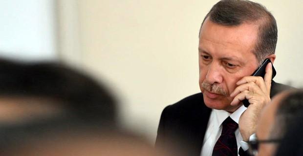 Erdoğan'dan O Ailelere Taziye Telgrafı