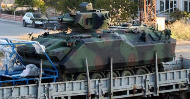 Etimesgut'taki 2 bin Kişilik Zırhlı Birlikler Burdur'a Gelmeye Başladı