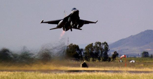 F-16'lar Metina Kampını Yerle Bir Etti!