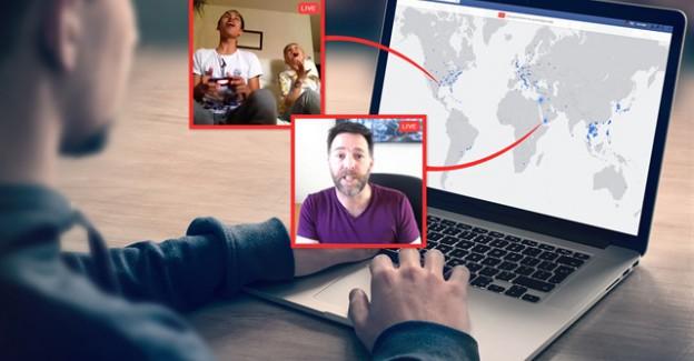 Facebook'a 'canlı harita' özelliği geldi!