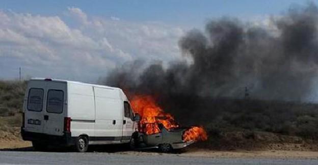 Feci ölüm: Konya'da 2 kişi yanarak can verdi