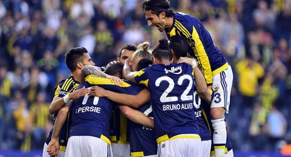 Fenerbahçe'den Kadıköy'de Gol Yağmuru