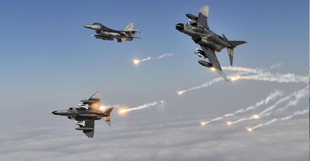 Flaş! TSK Havadan ve Karadan YPG'yi Vuruyor