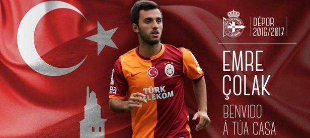 Galatasaray'ın yıldızı Emre Çolak Deportivo'da