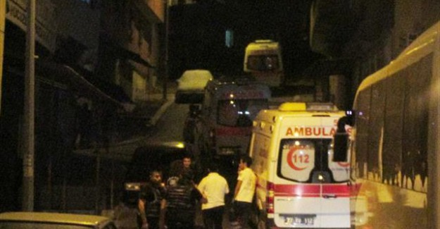 G.Antep'te Bir Polis Memuru Yaralı