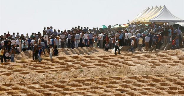 Gaziantep Saldırısında Hayatını Kaybedenler Toprağa Verildi