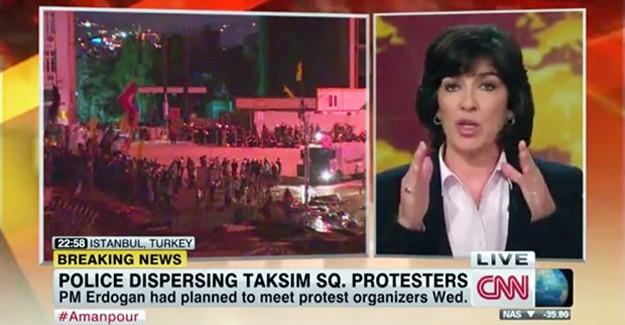 Gezi'de Aralıksız Yayın Yapan CNN Yenikapı Mitinginde...