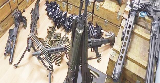 Hain Kalkışmada Ele Geçirilen Silahlar Sergilendi