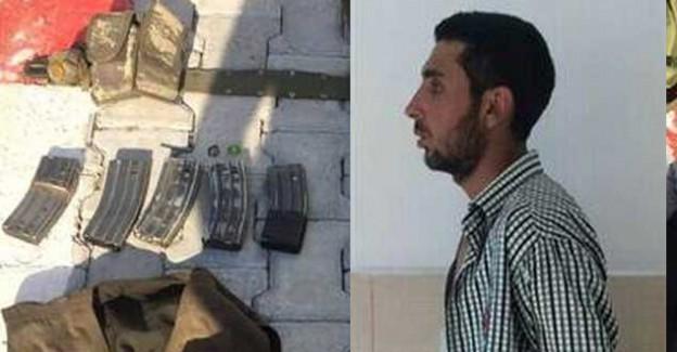 Hatay'da PKK'lı Terörist M-16 İle Yakalandı