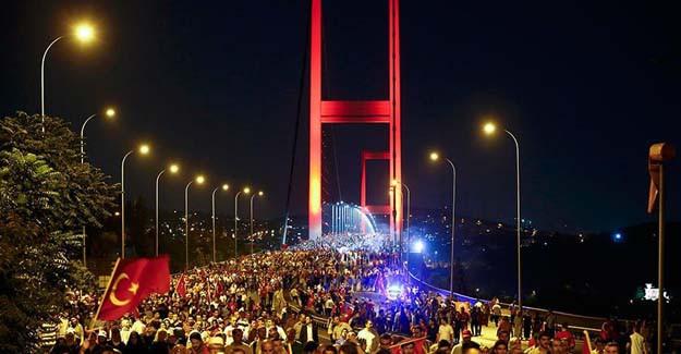 Hükümet'ten Türkiye'ye 15 Temmuz Teşekkürü!