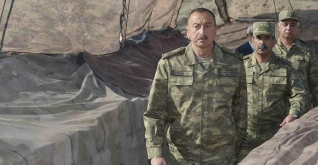İlham Aliyev cephede