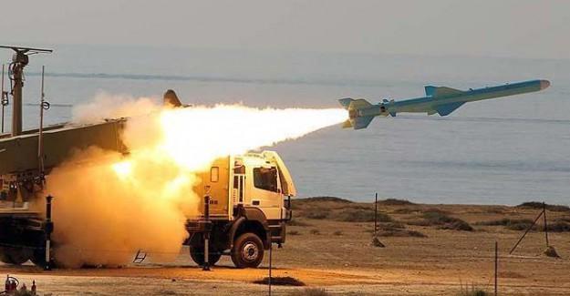 İran'ın balistik füze denemesi