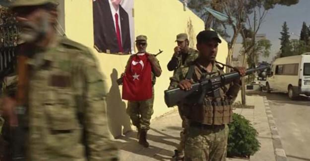 IŞİD'den Geri Alınan Bölgeyi Erdoğan Posterleriyle Donattılar
