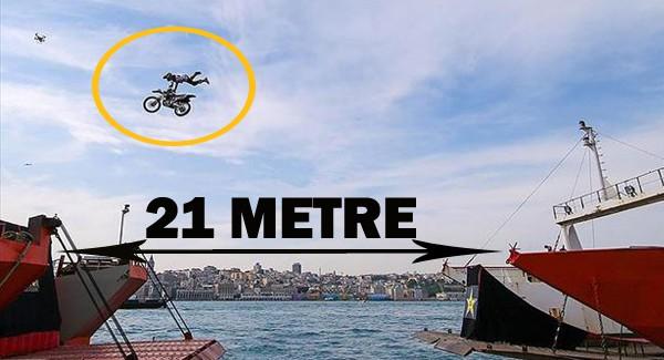 İstanbul Boğazı'nda Rekor Atlayış!