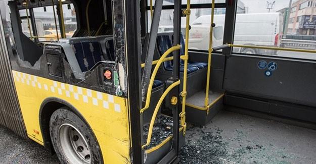 İstanbul Çağlayan'da Metrobüs Kazası
