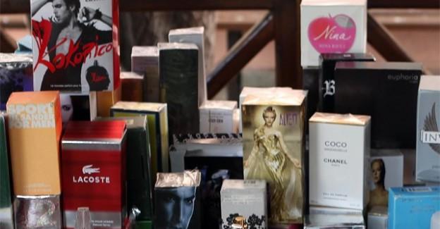 İstanbul'da Binlerce Şişe 'Çakma' Parfüm Yakalandı