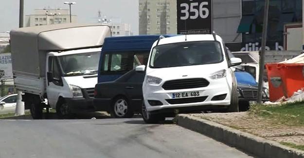 İstanbul'da Her Yerde Aranan Şüpheli Araç Bulundu!