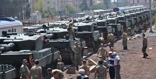 İstanbul'dan Gönderilen Tanklar Sınırda