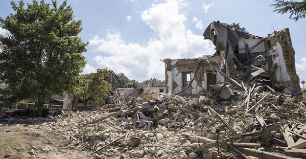 İtalya'da Çok Şiddetli Deprem! Bu Kez 6.1