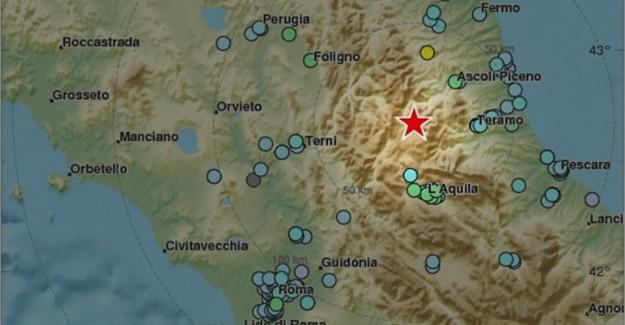 İtalya'da Peş Peşe Şiddetli Depremler! Metro Tahliye Edildi