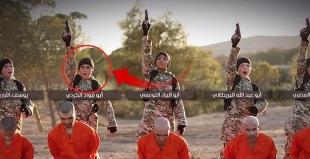 Kan Donduran İddia! IŞİD İnfazcısı Çocuklardan Biri Türk