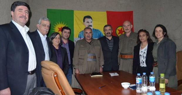 'Kandil Fotoğrafı' HDP'lilerin Başına Bela Oldu