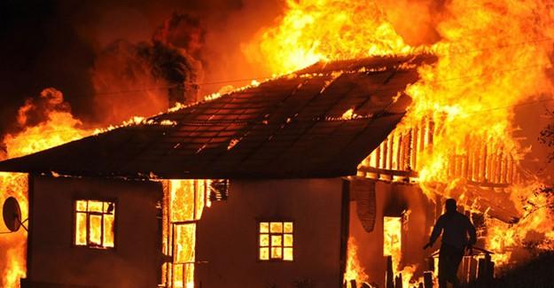 Karaman'daki Yangın 3 Hayatı Aldı